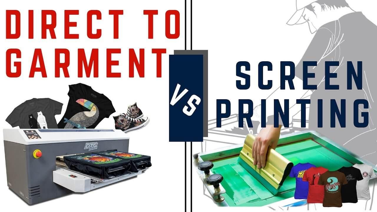 dtg vs screen printing